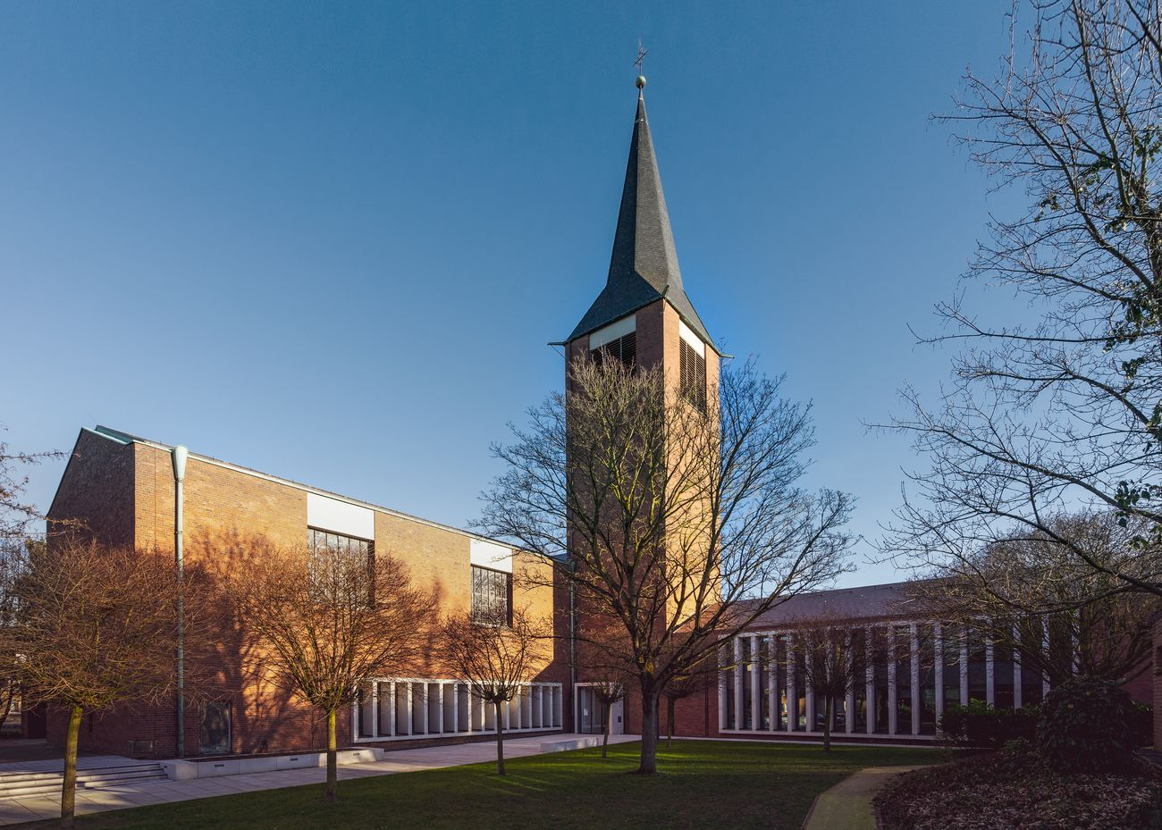 Umnutzung St.Johannes Kirche zur Familienbildungsstätte, Dorsten, Deutschland