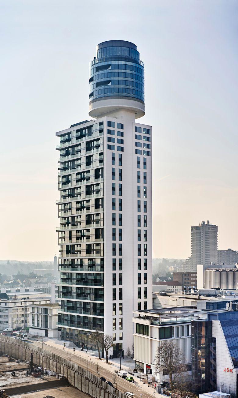Neuer Henninger Turm, Frankfurt am Main, Deutschland