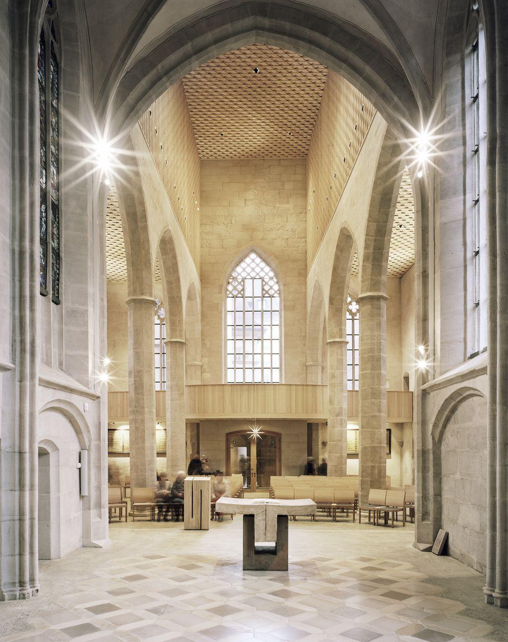 Wiederaufbau St. Martha Kirche, Nürnberg, Deutschland