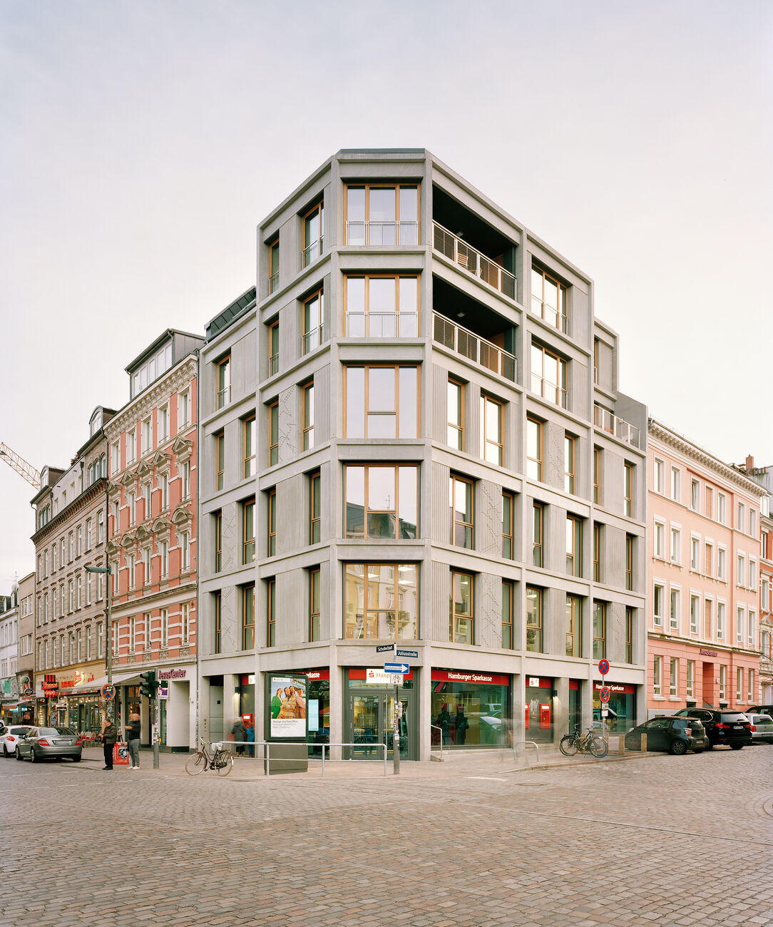 Wohn- und Geschäftshaus Schulterblatt, Hamburg, Deutschland