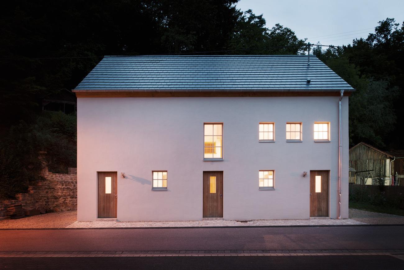 Umbau einer Scheune in ein Wohnatelier, Minden (Sauer), Deutschland