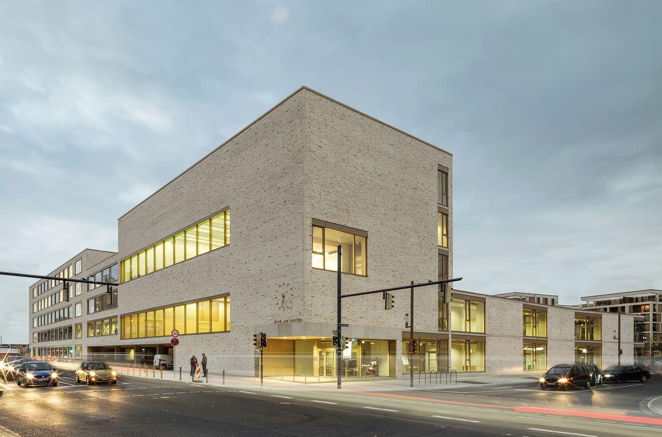 Hafenschule Offenbach - Vierzügige Grundschule, Kindertagesstätte, Sporthalle, Deutschland