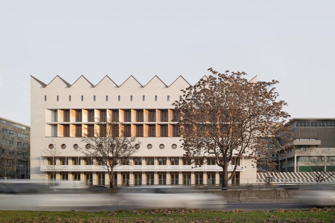 Erweiterung der Württembergischen Landesbibliothek Stuttgart, Deutschland