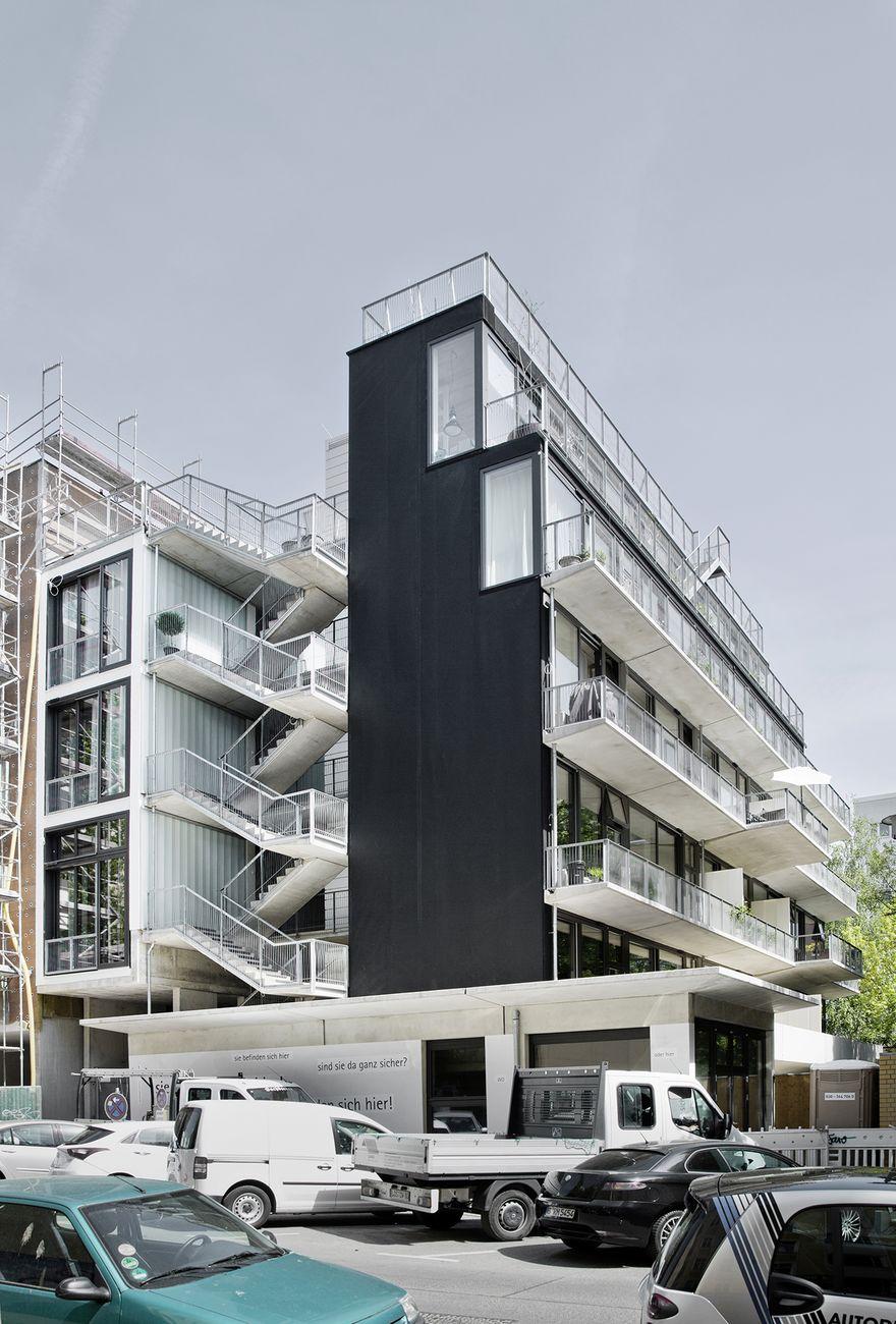 """Wohnensemble """"einfach gebaut"""", Berlin, Deutschland"""