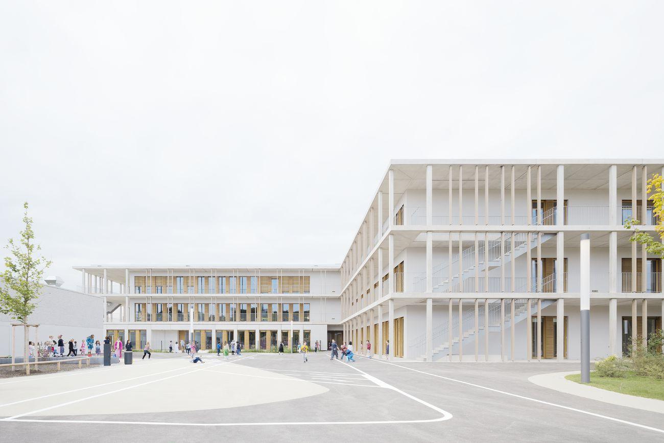 Vier Grundschulen in modularer Bauweise, München, Deutschland