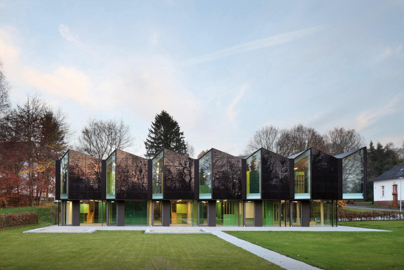 Neubau Plusenergie-/Solar-Kindertagesstätte Vitos-Areal, Marburg, Deutschland