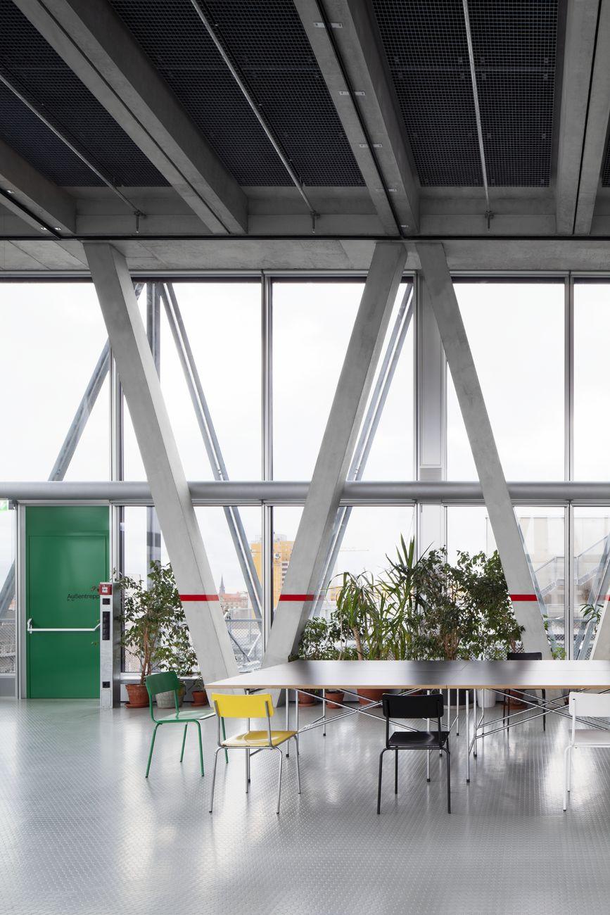 taz Neubau, Redaktions- und Verlagsgebäude, Berlin, Deutschland