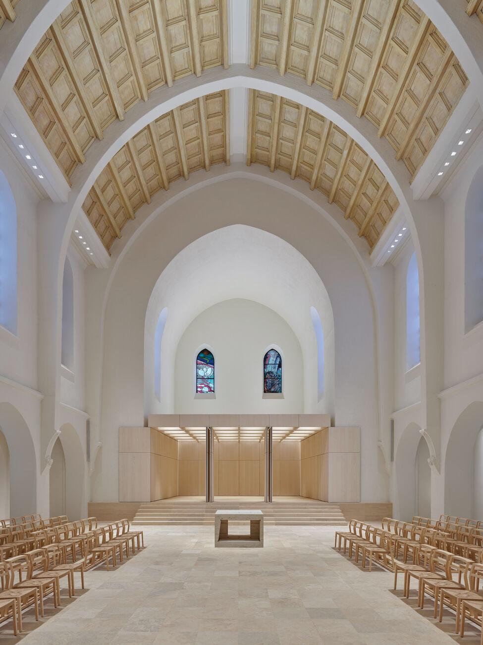 Umbau und Sanierung Katholische  Kirche St. Fidelis, Stuttgart, Deutschland